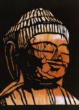 薬師にょらい(大間々町 禅桂寺)The Mind-healing Buddha by Enku