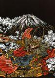富士の武田信玄公Load Shingenko Takeda of Mt. Fuji