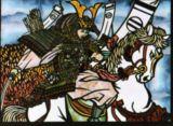 馬上の尊氏Takauji on Horseback, Ashikaga